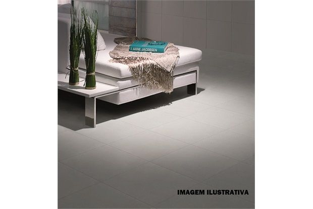 Porcelanato New York Cement 45x45 Cm Cx. 1,58m² Ref.: 21123e - Portobello | C&C