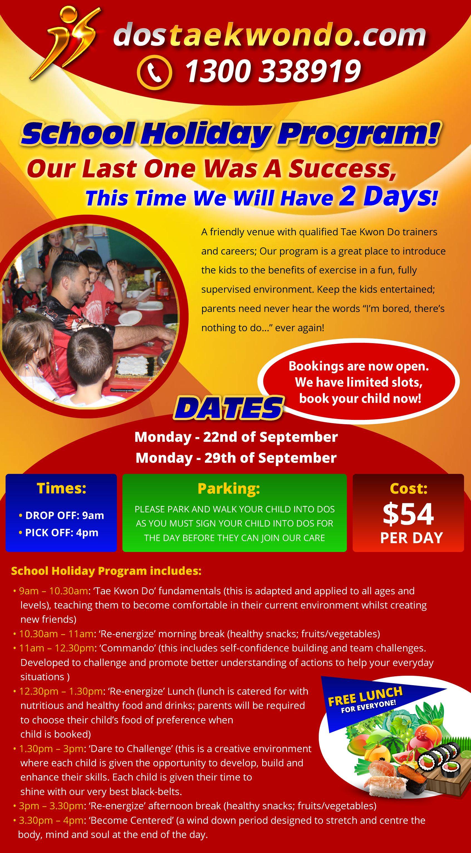 School Holiday Program School Holiday Programs Holiday Program