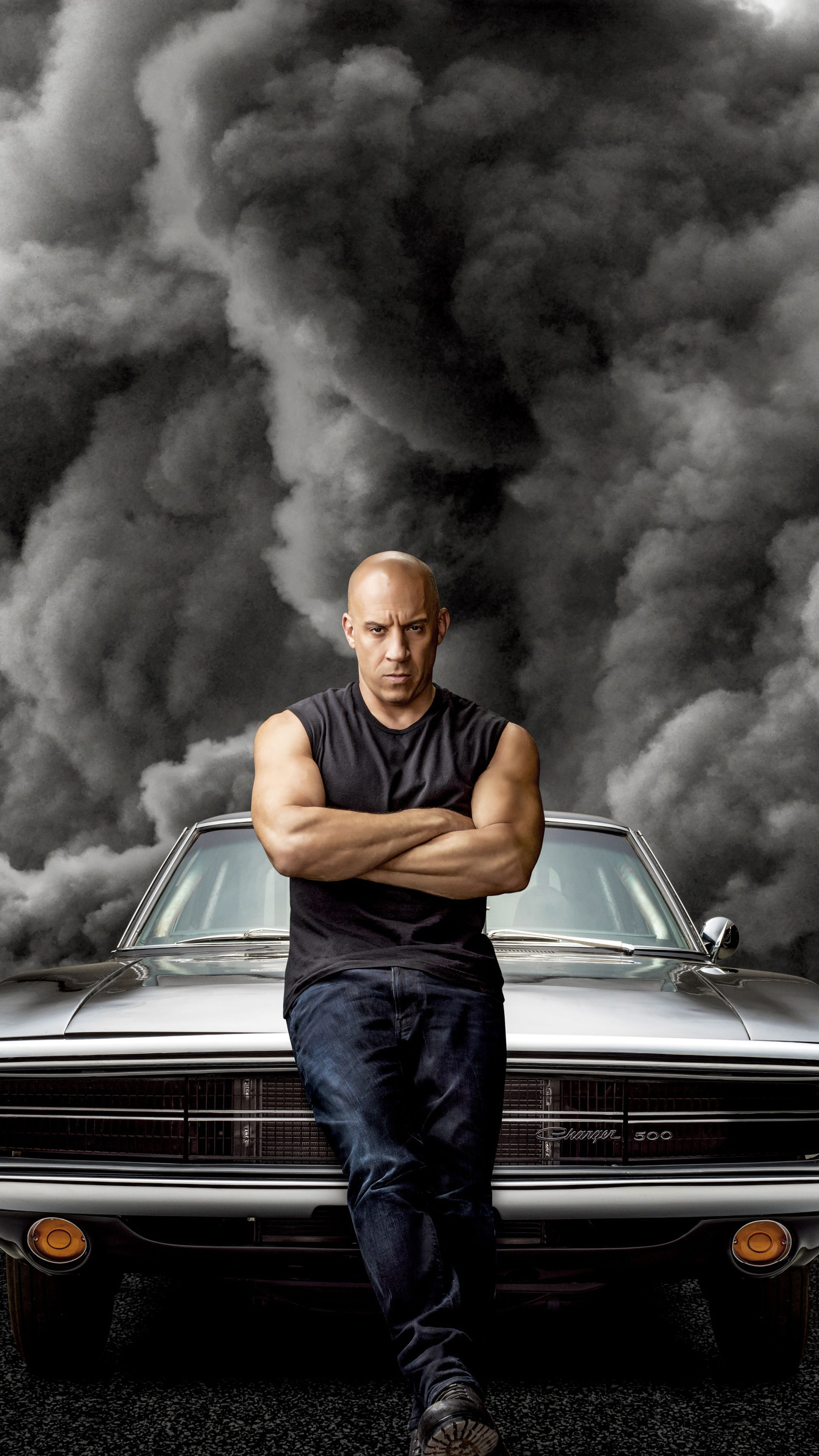 Vin Diesel, Fast & Furious 9, movie, 2160x3840 wallpaper