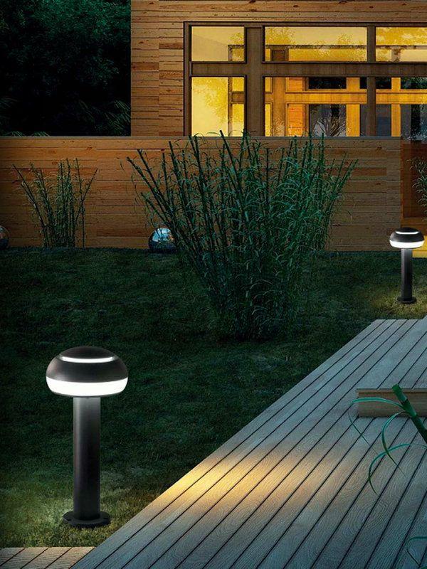 14 ideas para iluminar el jardín Luz tenue, Iluminación exterior y