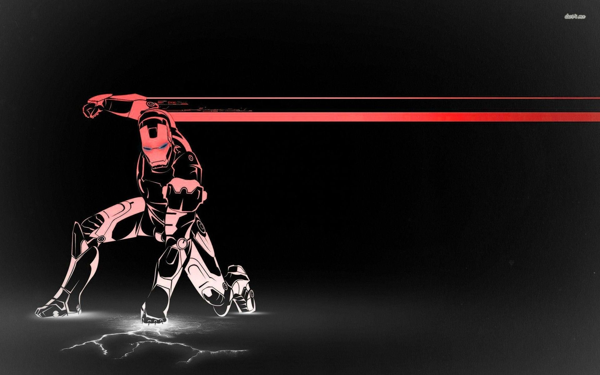 1920x1200 Iron Man Close-up desktop PC and Mac wallpaper