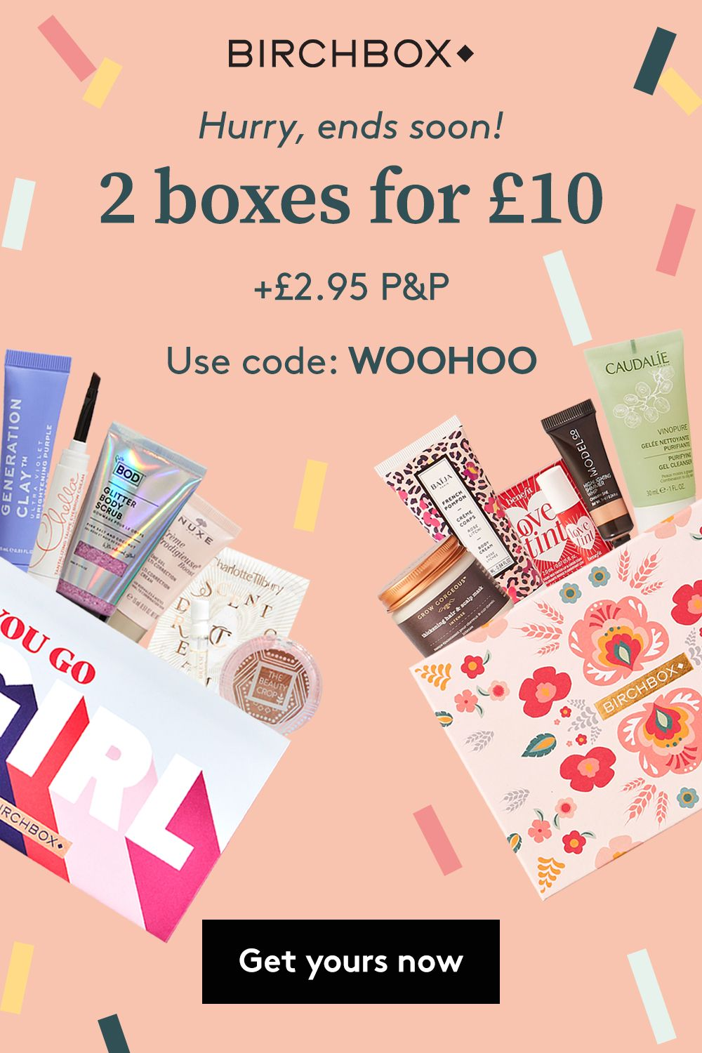 Get your first Birchbox this September and receive an
