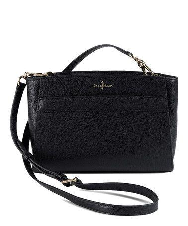 Love this Black Berkeley Convertible Crossbody Bag on #zulily! #zulilyfinds