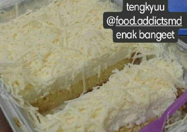 Milkbath Cake Tres Leches Cake Foto Resep Utama Tres Leches Cake Resep Masakan Resep