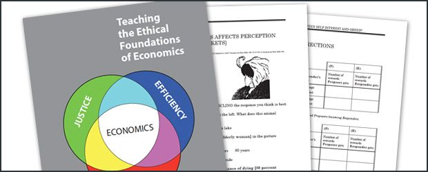 Teaching The Ethical Foundations Of Economics By Cee Economics Lessons Teaching Economics