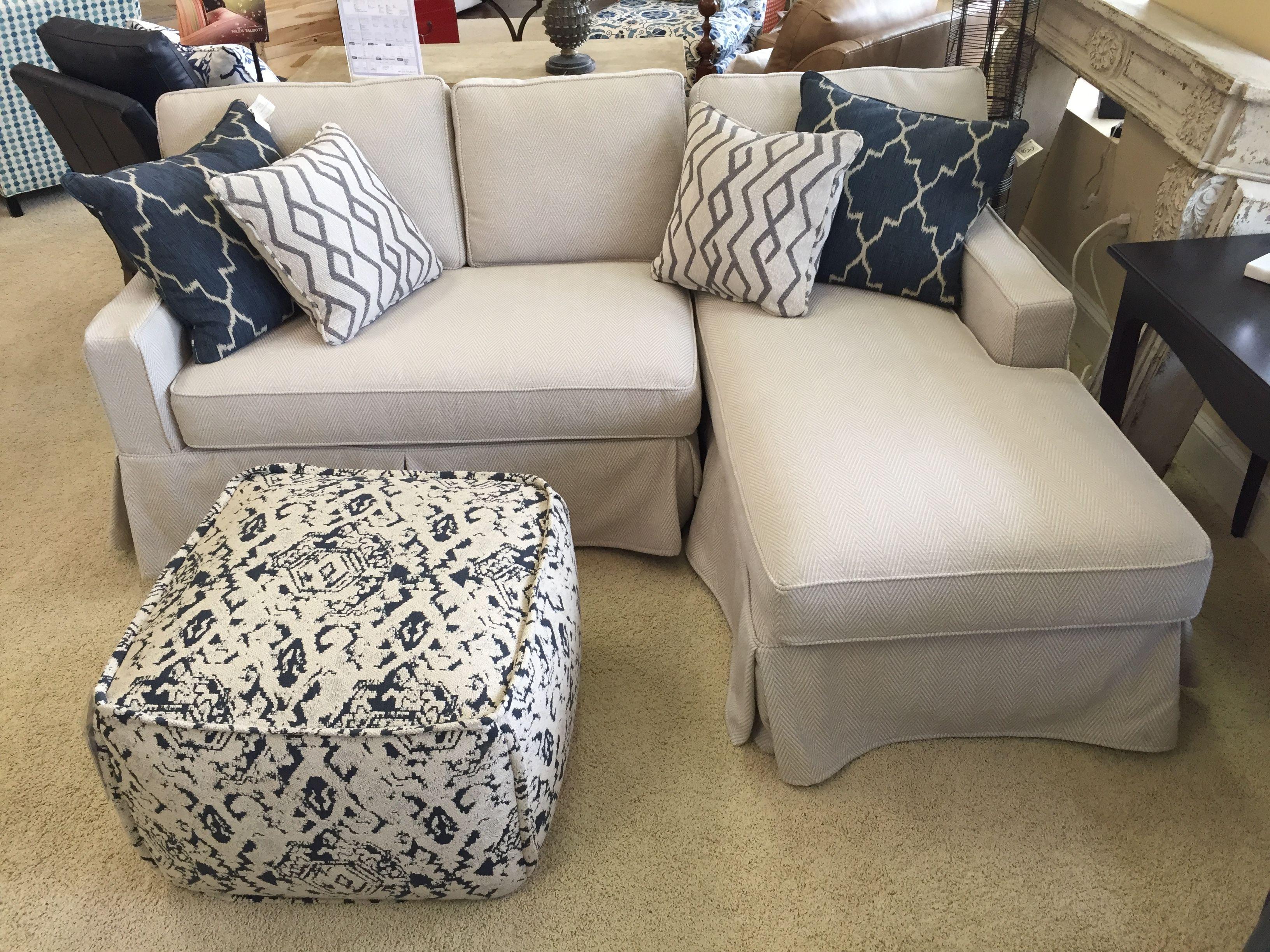 Miles Talbott Washable Wonders Slipcover Sofa