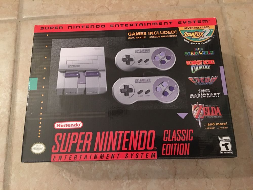 #SNES entertainment system: super nes classic edition from $134.99