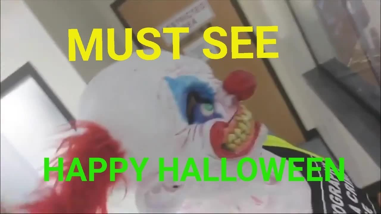 Clown looking for job at police dept must see jesus