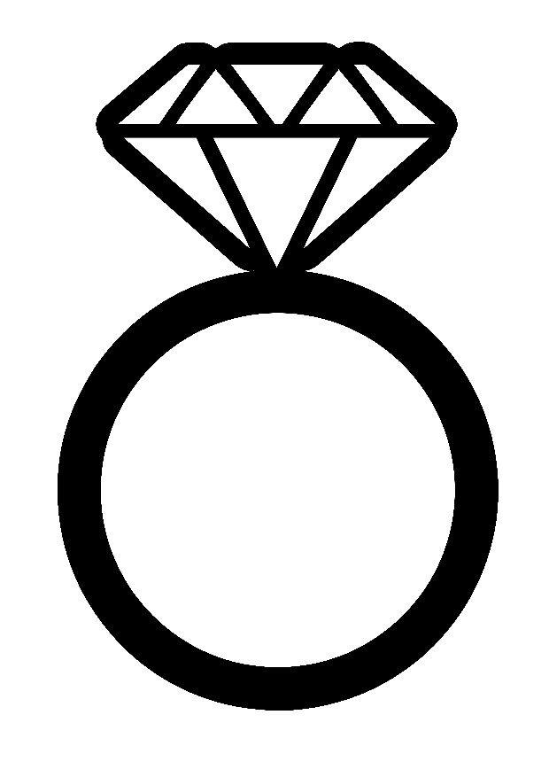 Wedding Ring Huge Wedding Rings Cricut Wedding Paper Flower Patterns