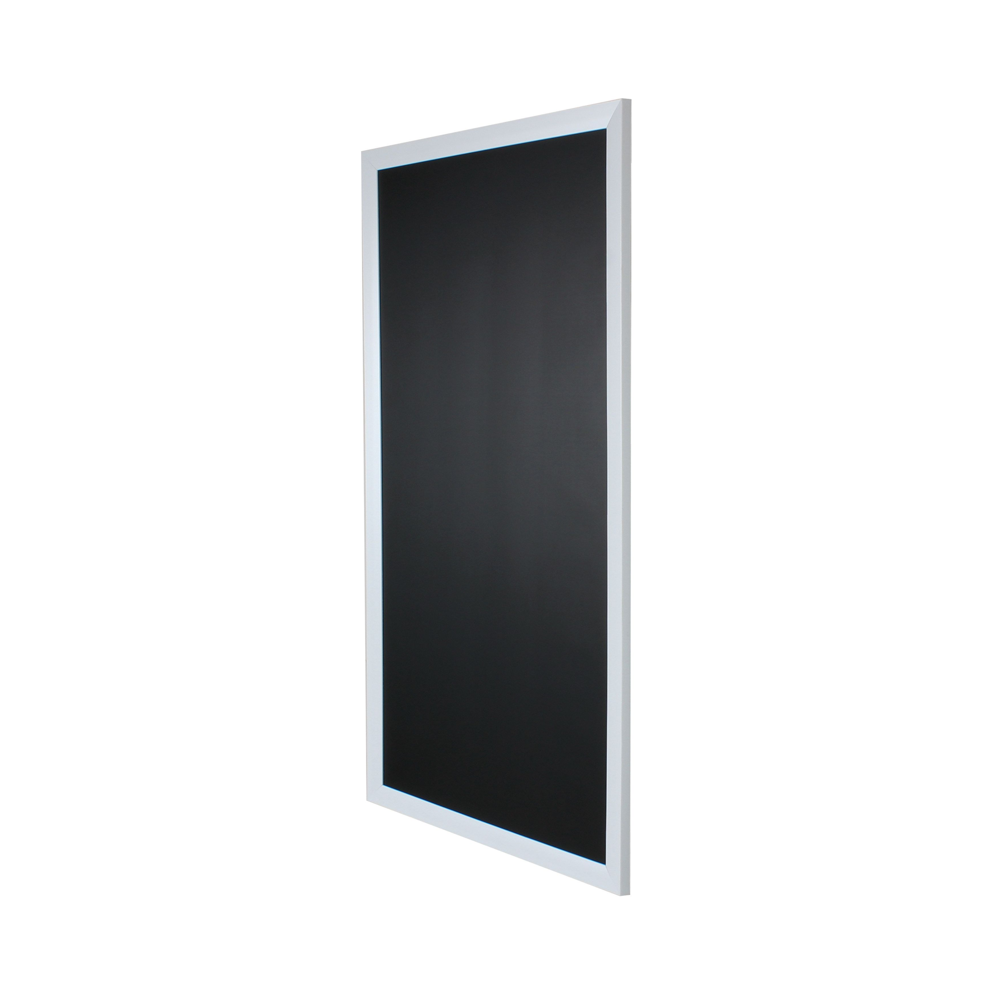 Designovation Beatrice Wood Framed Magnetic Chalkboard Black