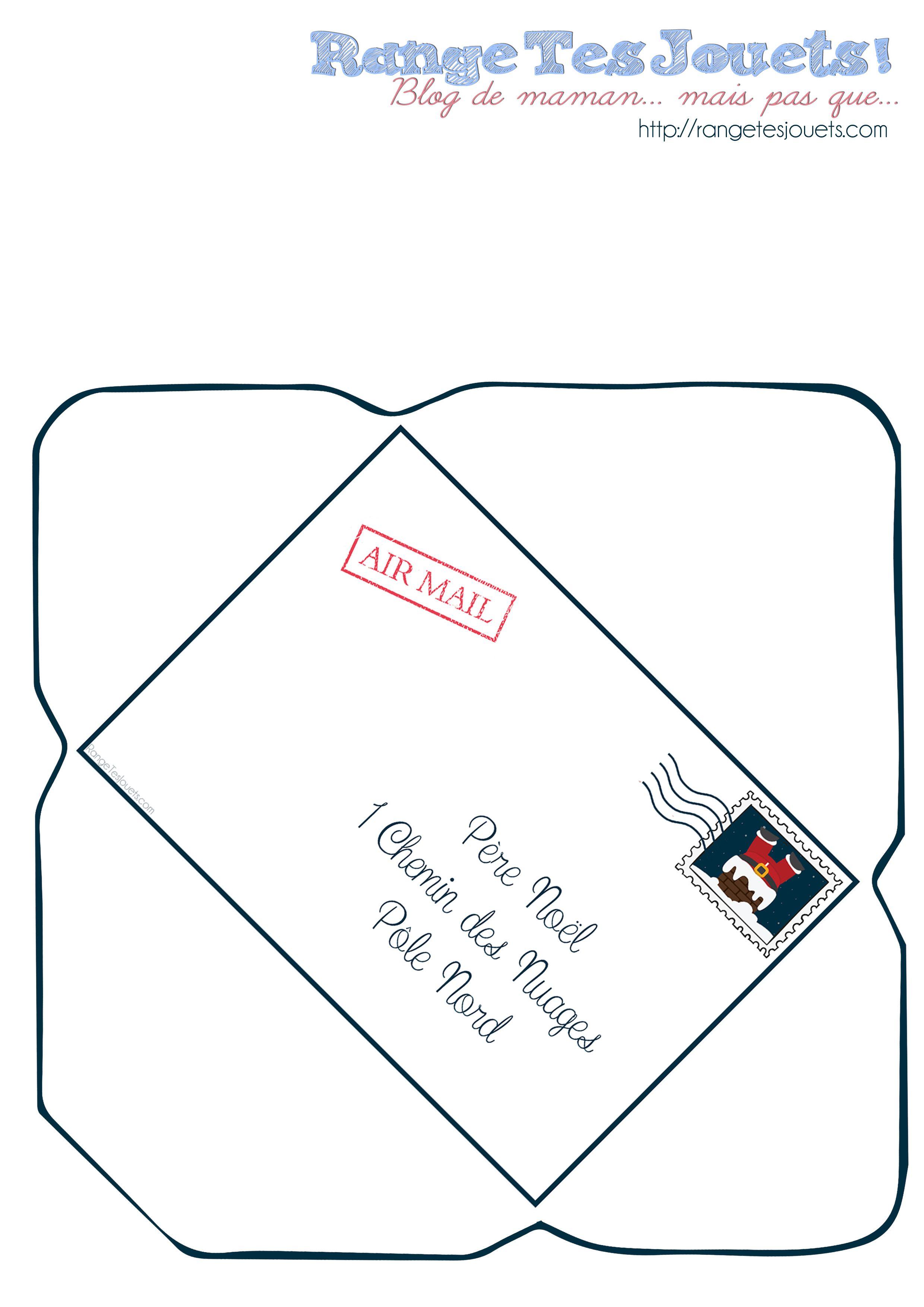 Comment Ecrire La Lettre Au Pere Noel.Cher Pere Noel Printable Noel Lettre Pere Noel Noel