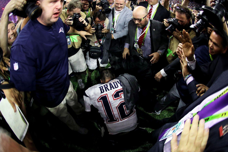 Si S Best Photos From Super Bowl Li Super Bowl Li Super Bowl Patriots Quarterbacks