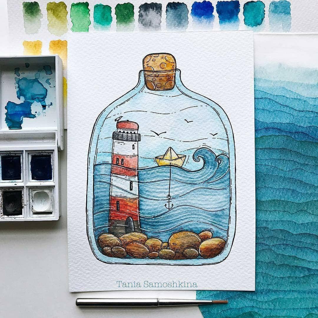 The Journal Bee Auf Instagram Sea In The Bottle When It S