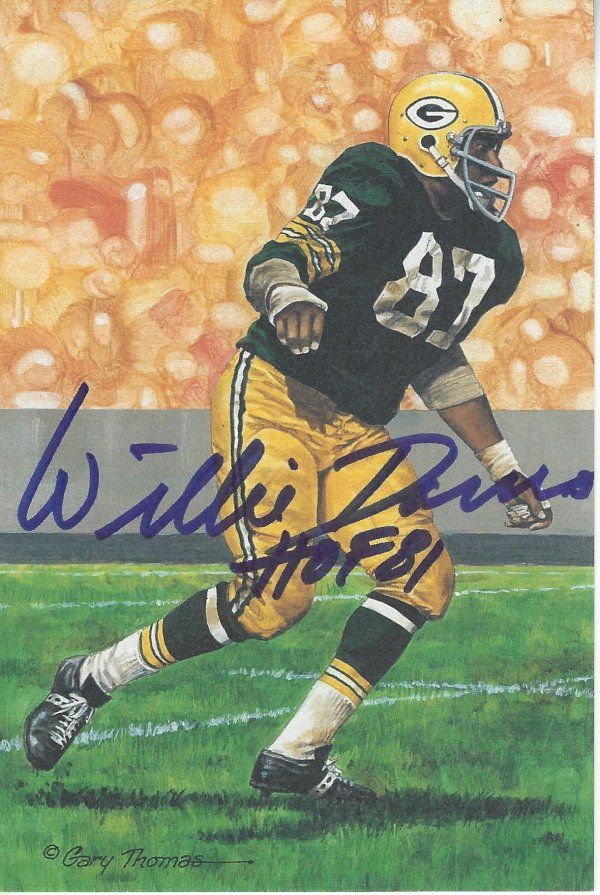 PSA DNA Authenticated COA Ray Nitschke Autographed Hand Signed 8x10 Photo