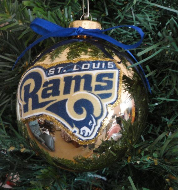 NFL St. Louis Rams 4 Christmas Ornaments by marilynschimmeyer, $6.00 - NFL St. Louis Rams 4 Christmas Ornaments By Marilynschimmeyer, $6.00