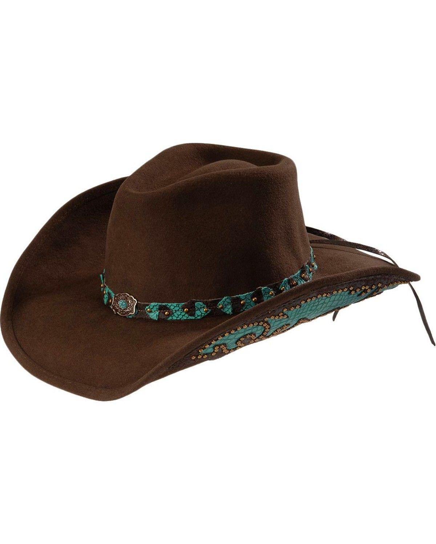 51c8197a8 Bullhide Women's Natural Beauty Shapeable Felt Cowgirl Hat in 2019 ...