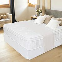 Zinus Night Therapy Icoil 12 Euro Box Top Spring Mattress And
