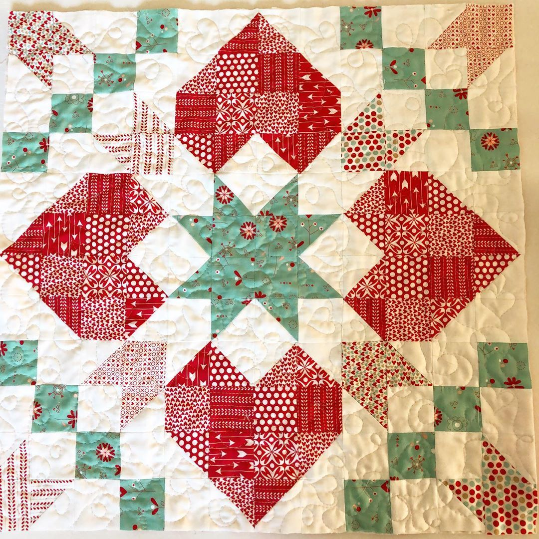 Little Quilt Of Love.My Friend Trishamacqueen Made This Cute Little Quilt With