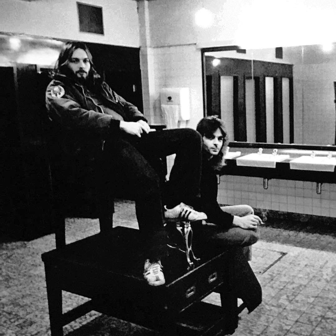 David (don't call him Dave!) Gilmour and Rick (Richard) Wright