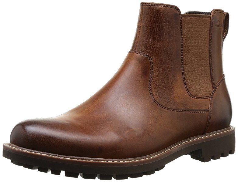 c213f72cca188 Clarks Montacute Top, Herren Chelsea Boots, Braun (Dark Tan Lea), 41 ...