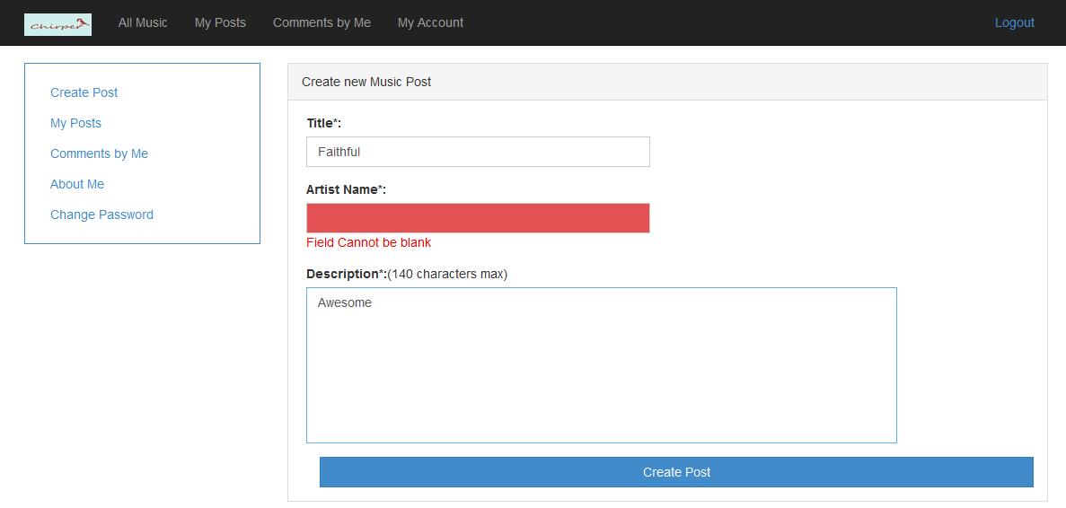 Validate Music Blog Artist Names New Music
