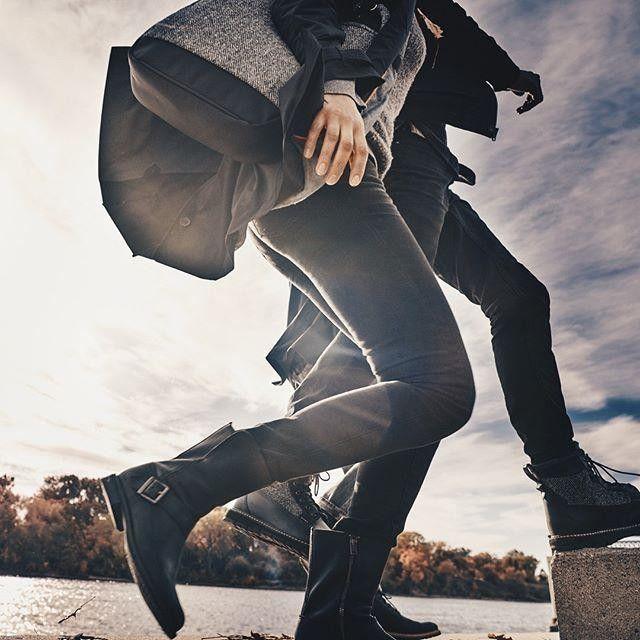Vuelve el negro. Un clásico de todos los otoños. #moderntrail #timberland