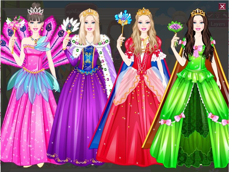 Girls Can Play With Many Barbie Dress Up Collections Barbie