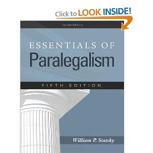 One Of My Favorite Resource Books By Bill Statsky Paralegal