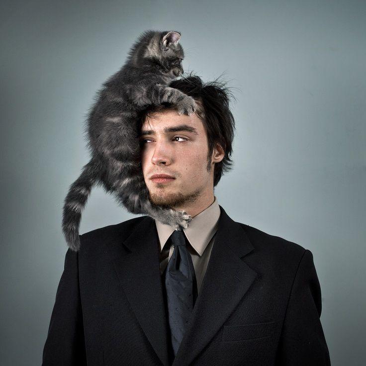 мужчины и кошки фото прикуриватель секретный скрытый