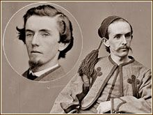 Confederate spy John Surratt, fled the country to escape being caught & charged as a conspirator in the assassination of Lincoln. Surratt, long time friend of J. Wilkes Booth & key person involved in a plot to kidnap Lincoln, fled the US & hid out in Rome where he joined the military unit that protected the Pope. John's mother, Mary was hanged for her part in the assassination plan providing the boarding house to plot the murder of Lincoln. John later returned to US & was found not guilty.