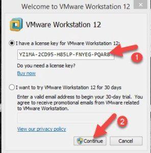 Vmware Workstation 12 Pro License Key Vmware Workstation