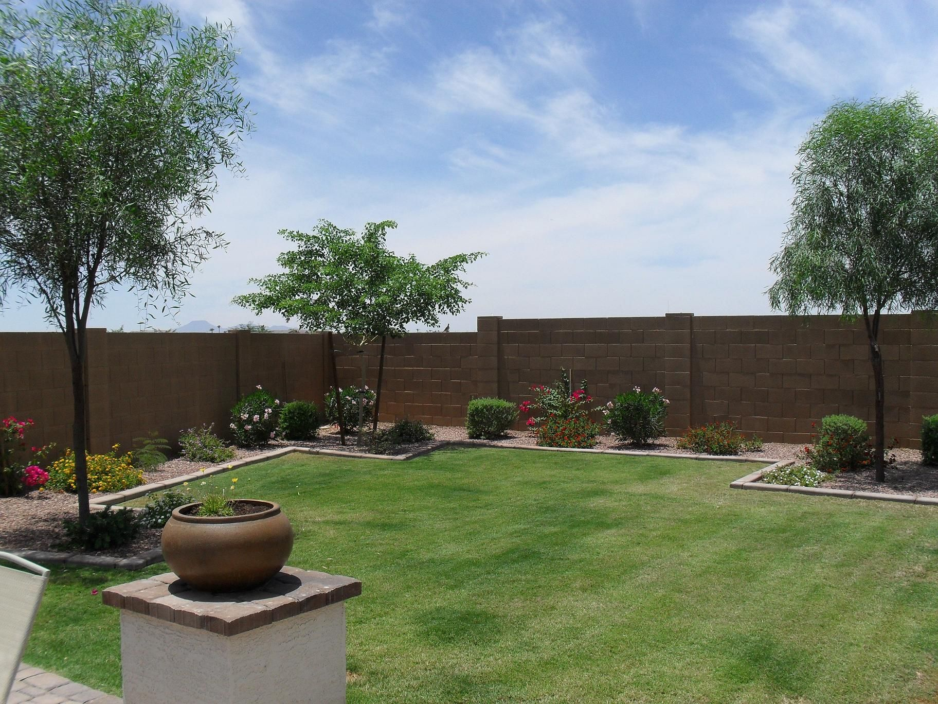 (and EXTREMELY Nice) Backyard. Pretty Sure It Was. Arizona Backyard IdeasSimple  ...