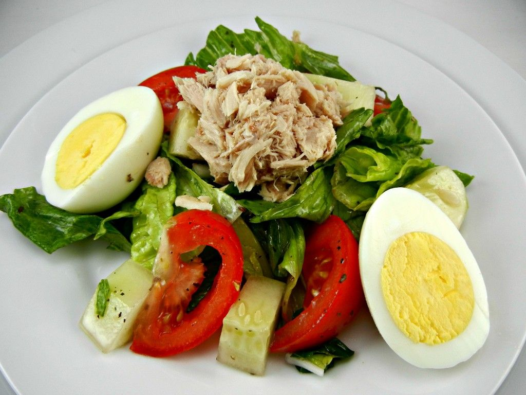 Tuna Salad Any Meat A Boiled Egg And Tomatoes Add Onion If You Like
