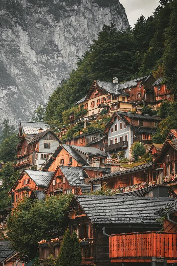 The small town of Hallstatt, Austria - 9GAG  #travel #beautiful #wanderlust  #travel #travelphotography #photography #nature #love #photooftheday #wanderlust #trip #travelblogger