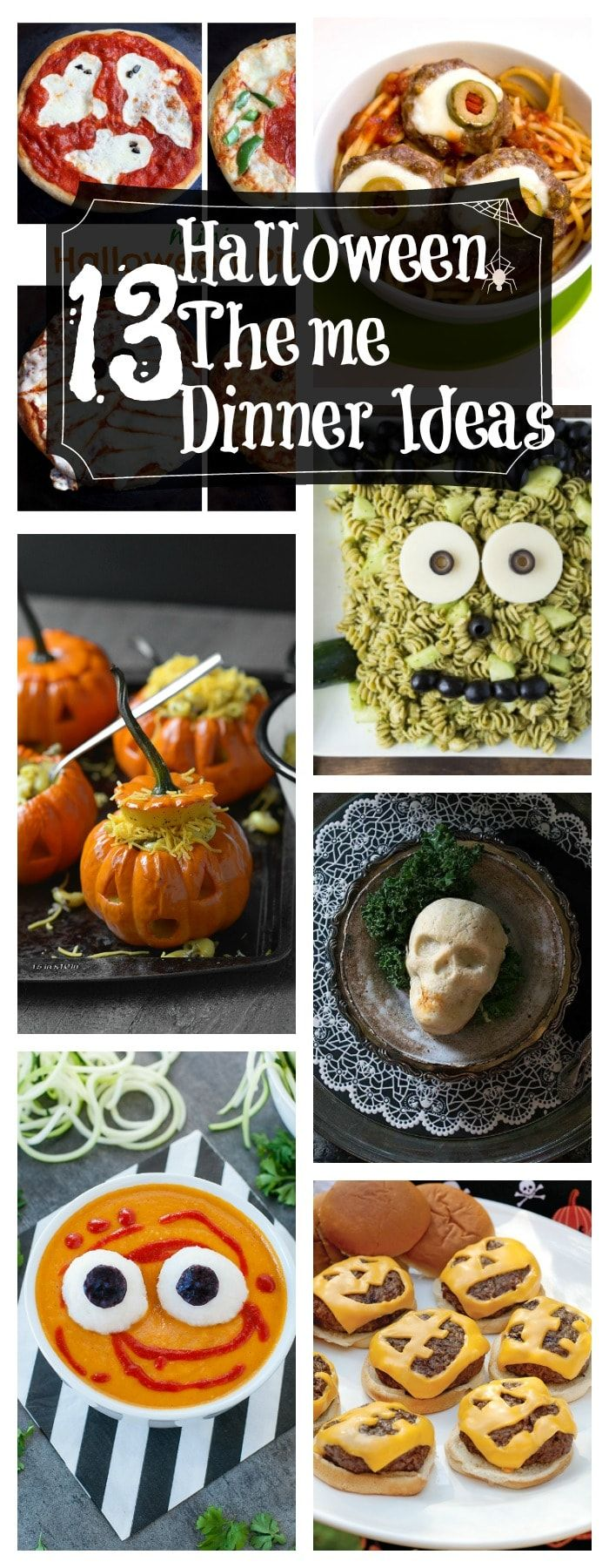 Healthy Halloween Themed Dinner Ideas
