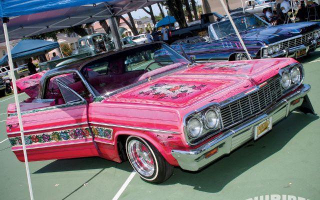 Klique Orange County Car Show Lowrider Magazine Photo Rose - Lowrider magazine car show