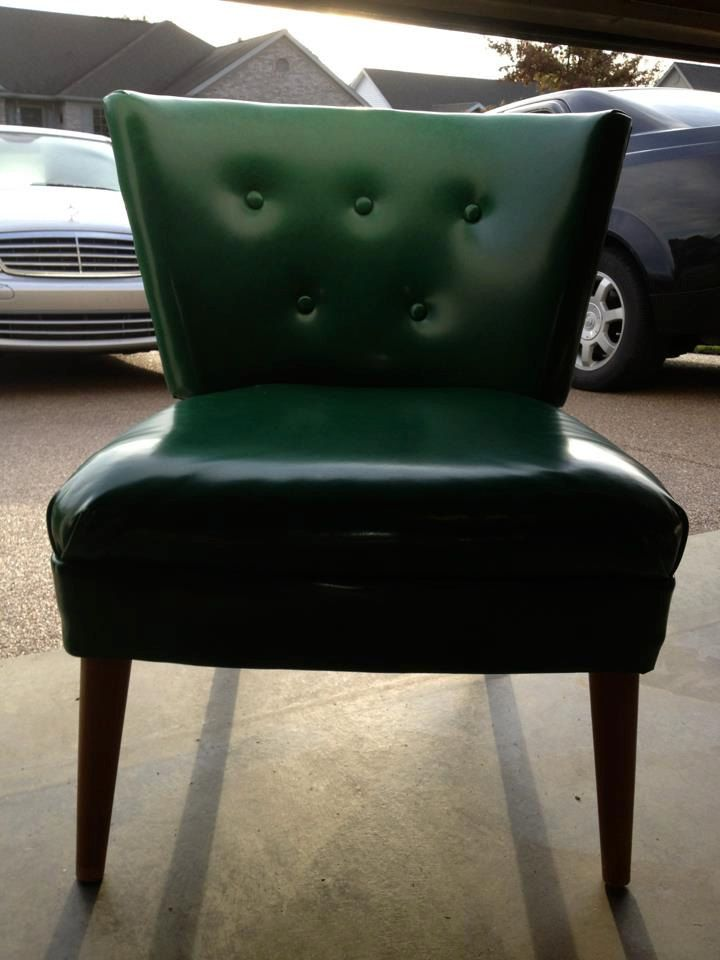 Slipper Chair 1950 S Made At Finke Furniture Company In Evansville Indiana 24 Deep X 24 Width X 30 Tall Chair Mid Century Furniture Furniture