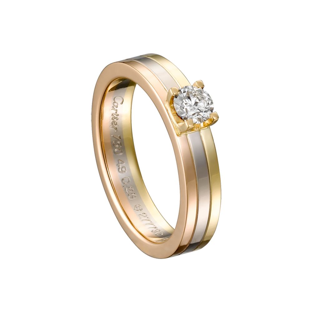 vestiaire s ring pink cartier women gold jewellery rings love collective