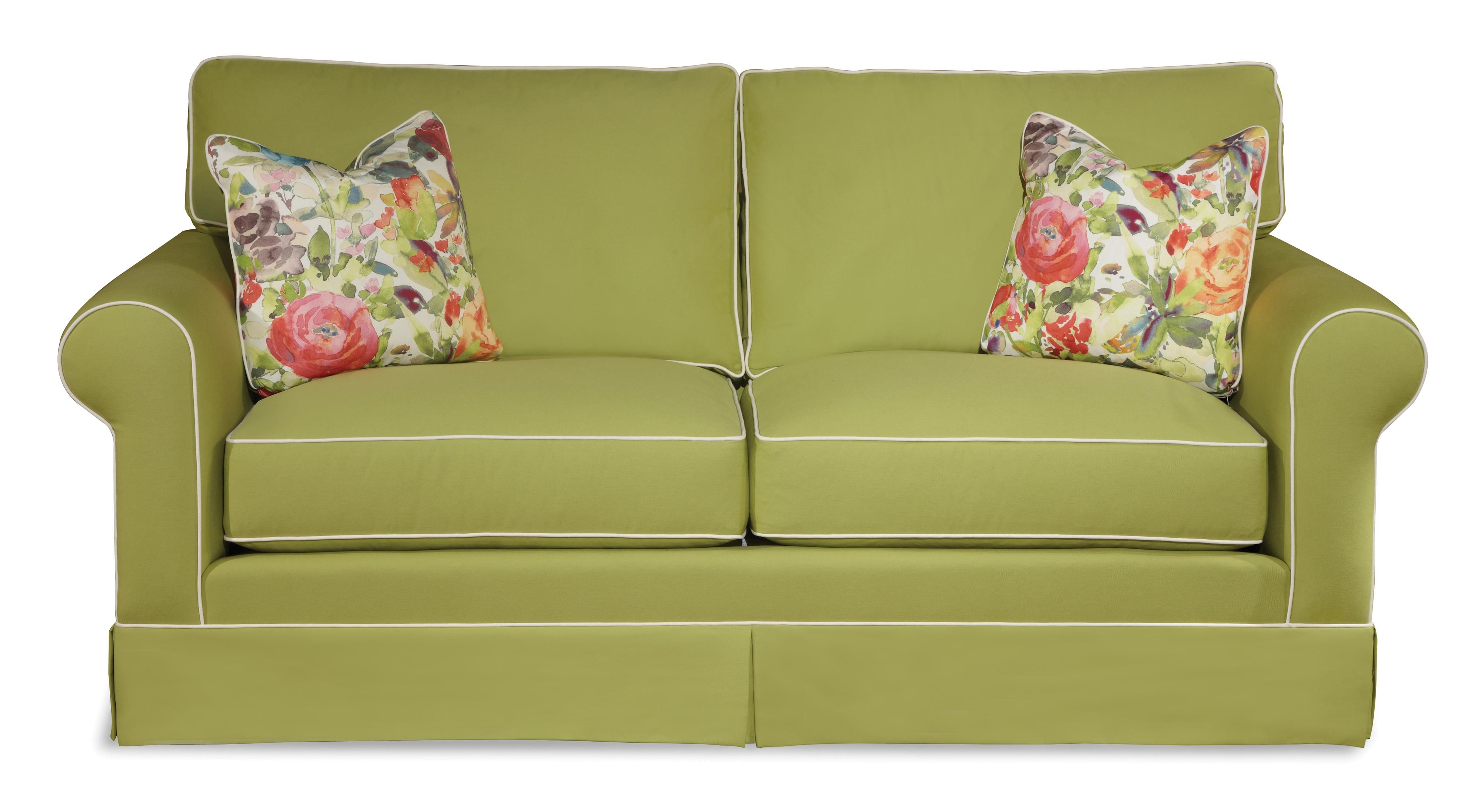 traditional sofa sleeper jackson co sydney southern shores regular air coil with by klaussner