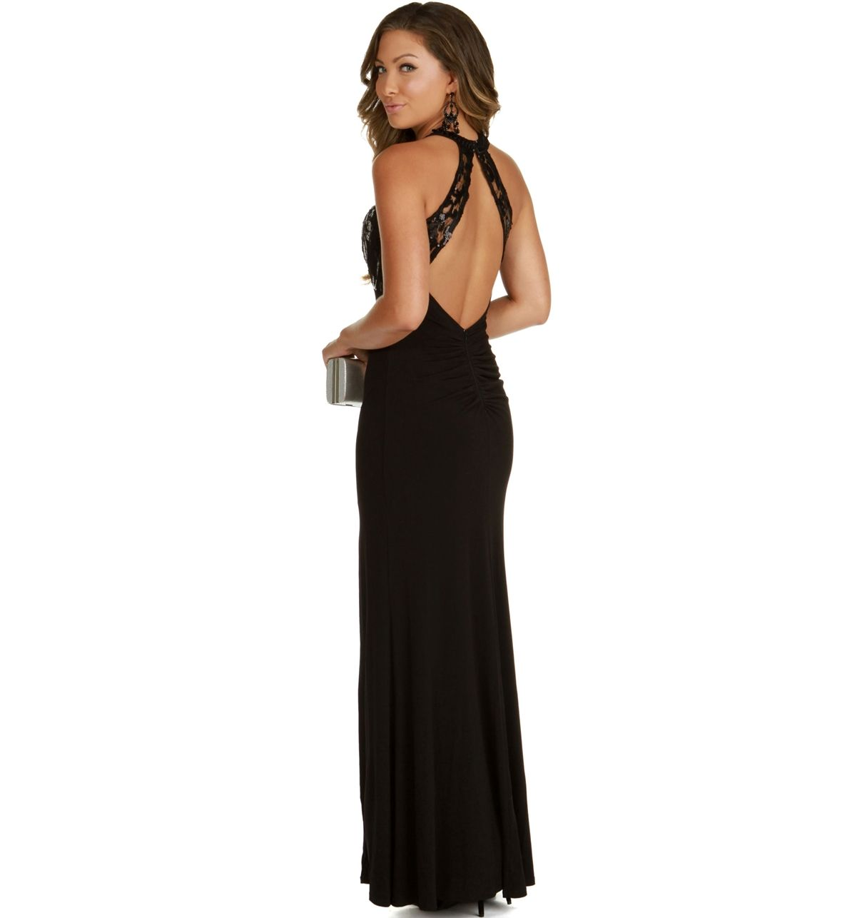 Angieblack prom dress senior year pinterest black prom