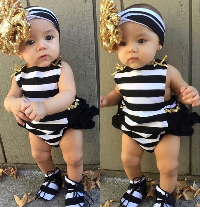 NEWBORN BABY BOYS GIRL ROMPER PANTS BODYSUIT SUNSUIT OUTFIT SET  CLOTHES NICE
