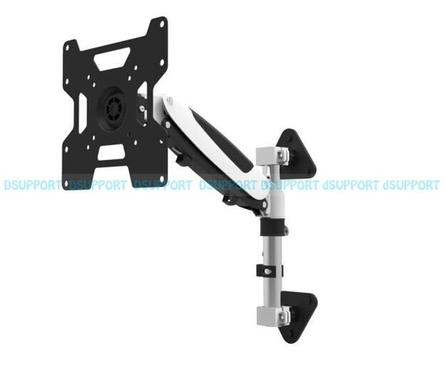 35 55 Heavy Duty Gst111w 300 Gas Spring Flexible Tv Wall Mount Full Motion Lcd Led Monitor Mount Arm Loading 9 20kgs Wall Mounted Tv Tv Wall Flexible Tv
