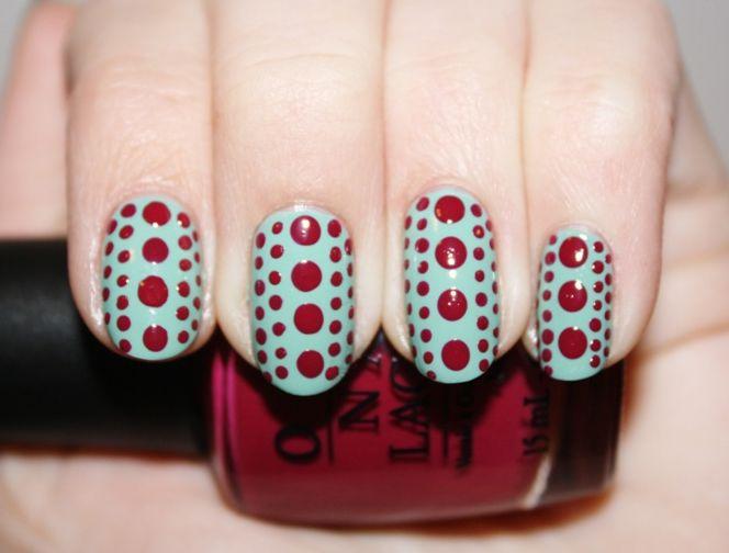 Cute Polka Dot Nail Designs for Long Nails | Nail Designs ...