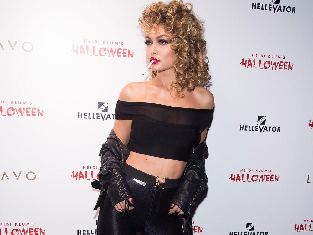 gigi hadid grease   Party in New York: Halloween bei Heidi Klum ...