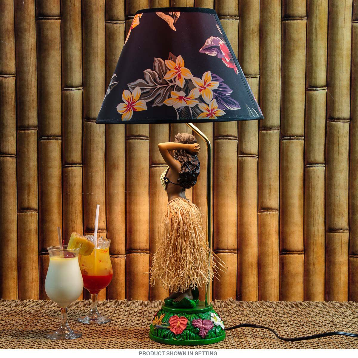 Hula Girl Iolani Hawaiian Tiki Lamp | Hula girl, Hula and Hawaiian ...