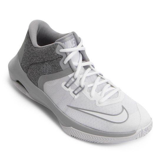 def503741e Tênis Nike Air Versitile II Masculino - Branco+Cinza