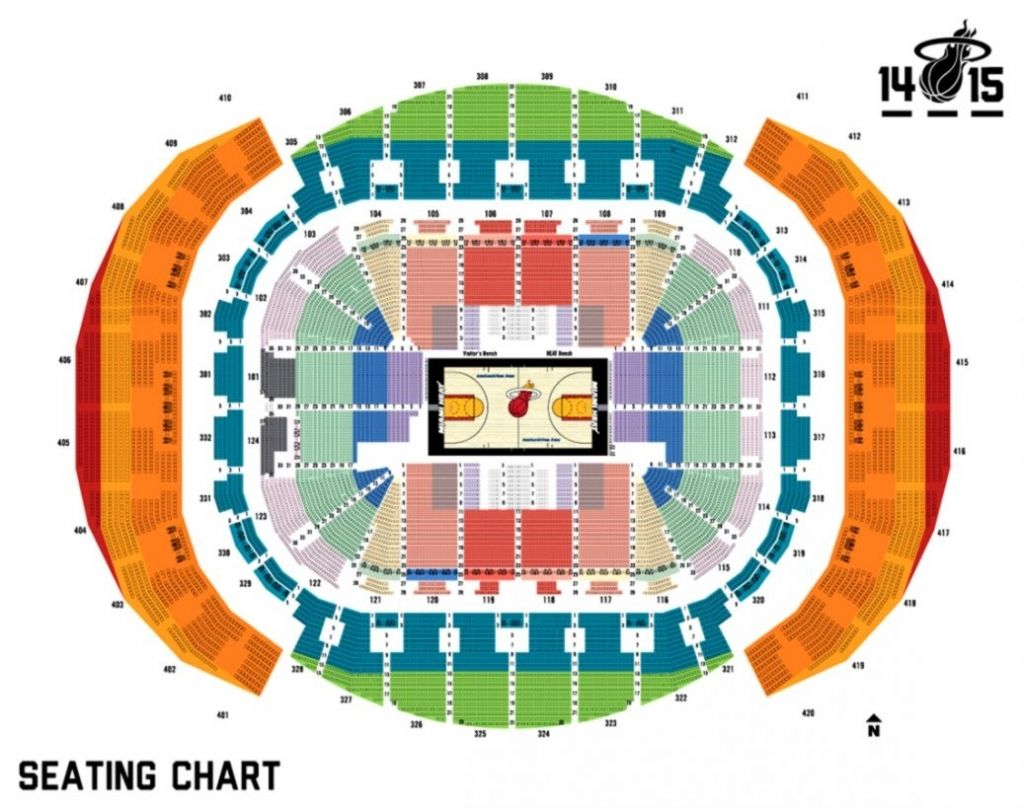 Heat Seating Chart Miami Heat Miami