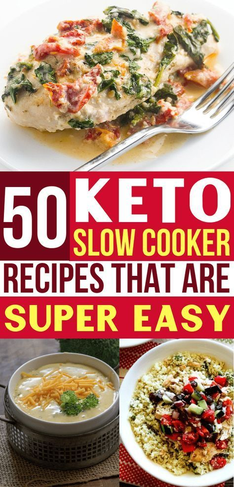 50 Best Keto Slow Cooker Recipes For Easy Weeknight Dinners -  #cooker #dinners #easy #Keto #... #crockpotmeals