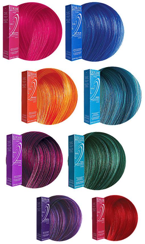 Blue Hair Color Chart