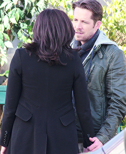 """Robin- """"But darling, just look at our perfect hair and impeccable jacket game- everything will be all right."""""""